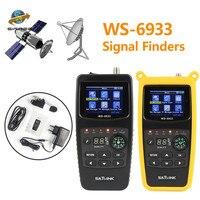 Original Satlink WS 6933 Satellite Finder DVB S2 FTA C KU Band Digital Satellite Finder Meter
