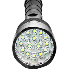 High Quality 3x CREE XML T6 – 15x CREE XML T6 Led B 32000 Lumens 5 Mode 18650 Super Bright LED Flashlight Camping Lamp Light