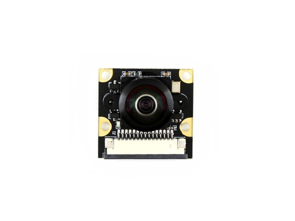 RPi Camera (M) for Raspberry Pi Fisheye Lens Wider Field of View supports all revisions of the Pi 5 megapixel adjustable focus