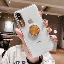 Metal Camera Lens Protective Case for Huawei P30 Pro P20 Mate 20 Transparent Acrylic Holder Cover
