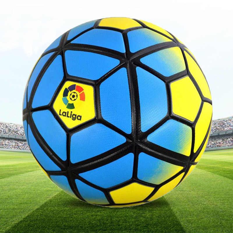 2018 новый PU футбольный мяч Официальный Размеры 5 Футбол цель шар Лиги Спорт на открытом воздухе ноги шары для тренировок Futbol voetbal Бола