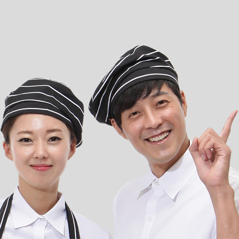 (10pcs/lot)men and women work hats The new 2016 attendant capsCoffee hall cap restaurant chef hats Japanese food w hat