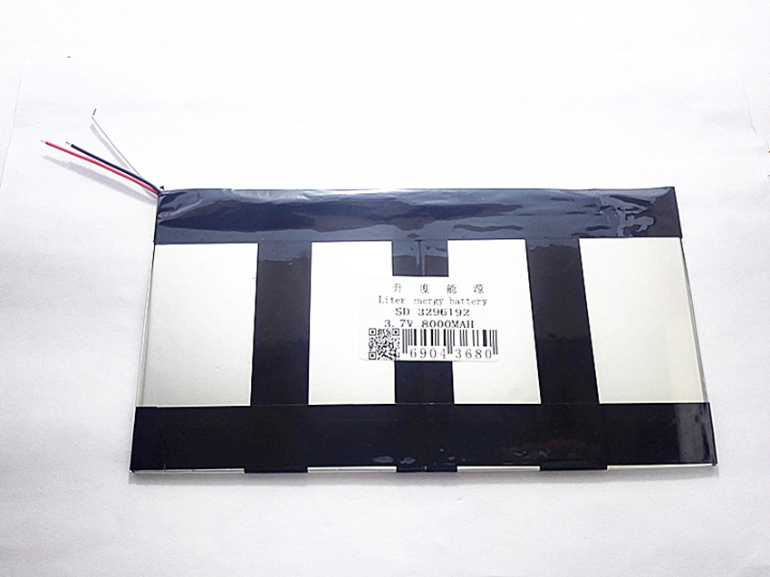 3.7v 8000mAh For Teclast X98 air 3G P98 3G v99i Tablet PC Battery 3 wire Perfect quality of large capacity alternatives