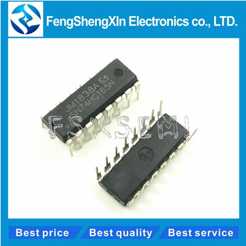10pcs 74HC165 SN74HC165N 8 Bit Parallel Load Shift Registers DIP-16