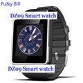 Dz09 bluetooth smart watch con cámara para samsung s5/note 2/3/4, nexus 6, htc, sony y otros teléfonos inteligentes android pk q18s