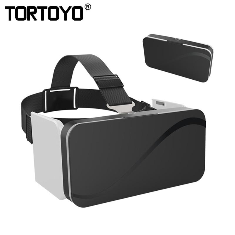 5e6625c7ca7c رخيصة طوي الواقع الافتراضي 3D نظارات نظارة واقع افتراضي جوجل كرتون المحمولة  للطي جيب VR نظارات