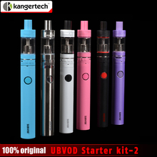 100% Original Kangertech SUBVOD Starter kit 1300mah Battery  Kanger 3.2ml Subtank Nano Atomizer ssocc coil Tank USB Passthrough