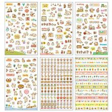 Stickers Cat Transparent Sticker Diary Album Diy Emoticon Pegatinas Set Toys For Children Adesivos Scrapbooking Birthday Gifts(China)