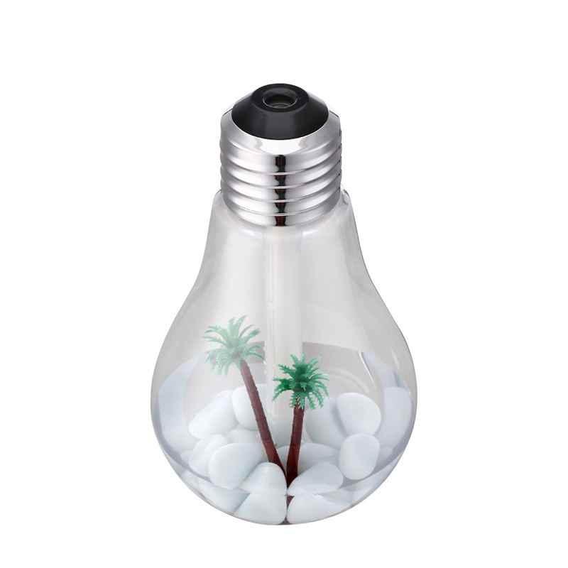 Humidificateur ultrasonique d'air de lampe à LED pour le fabricant de brume de diffuseur d'arome de parfum d'ambiance de diffuseur d'huile essentielle à la maison avec la veilleuse LED