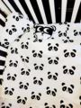 5Pcs/sets Cotton Baby Bedding Set Classic Black White ColorCartoon Panda Pillow Case Quilt Cover Crib Baby Cot Sheet Soft Beddin