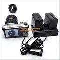 Np-f970 bateria fonte de alimentação dupla crable para nikon canon panasonic sony câmera/câmara de vídeo/monitor/iluminação & more dispositivos
