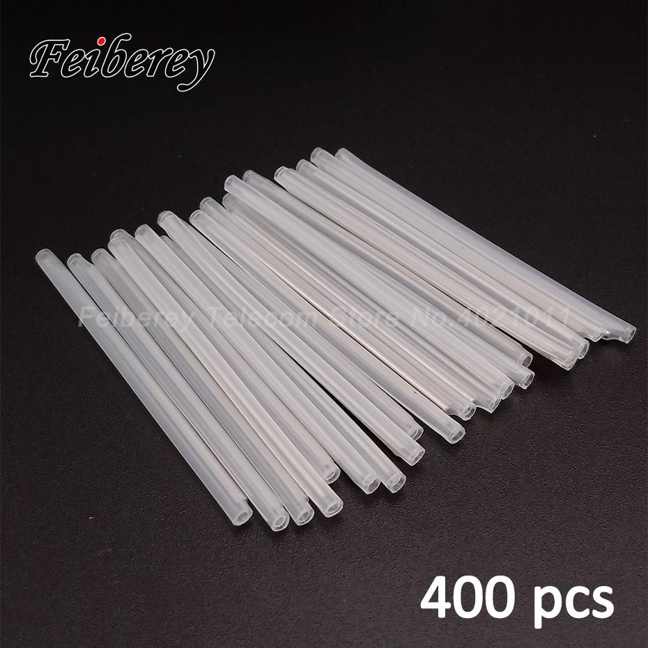 400 Pcs 40/45/60mm FTTH Optical Fiber Splice Sleeves 60mm Heat Shrink Tubing 40mm Fiber Optic Fusion Splicing Tools