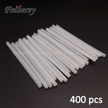 400 adet 40/45/60mm FTTH Fiber optik Splice kollu 60mm isı Shrink boru 40mm fiber optik füzyon ekleme araçları