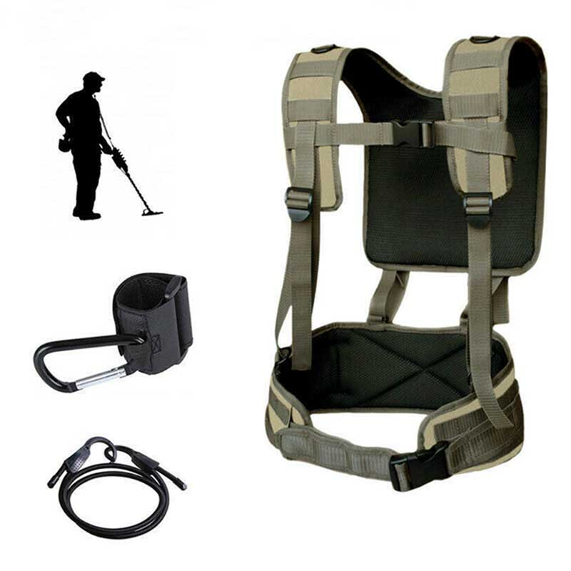 Newly Universal Metal Detector Generic Detecting Harness Sling For Detector Pro Swing With Girdle DC128