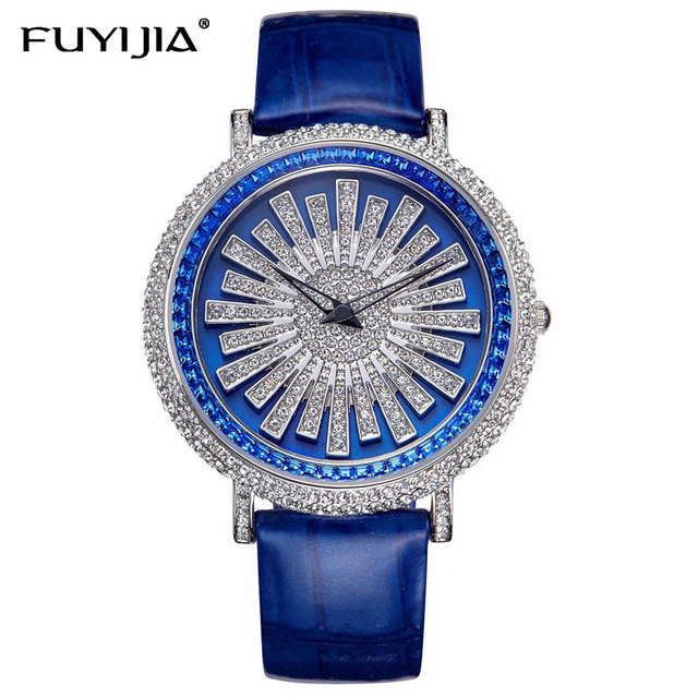 New ladies watch women dress Quartz watches brand belt student bracelet watch waterproof rose gold diamond lady table female