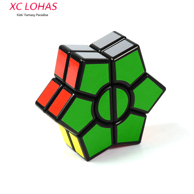 2 Layers Hexagonal Magic Cube Speed Cubo Anti Stress Puzzle Cube Toy Educational Toys For Children