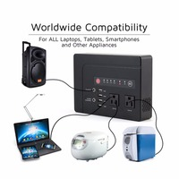 39600mAh Portable Backup Power With 4 USB Port Ravel Charger Convenient Purely Sine Wave Generator Power