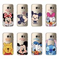Mickey Minnie Donald Daisy Duck Pooh Cartoon Case Covers For Samsung Galaxy C5 C7 A3 A5 A7 J1 J5 J7 2016 Version Soft TPU Shell
