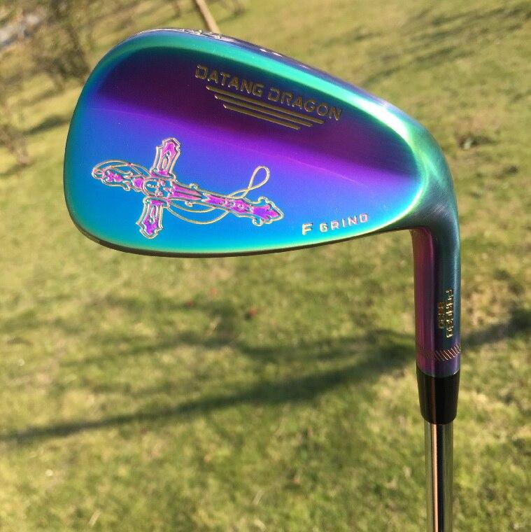 2017 cuñas de golf 52 56 60 grados con palos de golf eje de acero original S200
