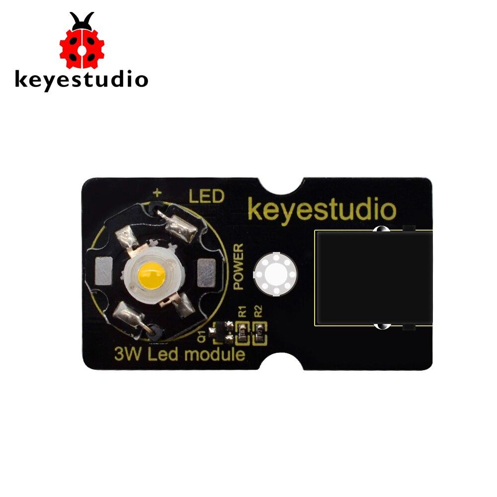 Keyestudio EASY Plug 3W LED Module For Arduino