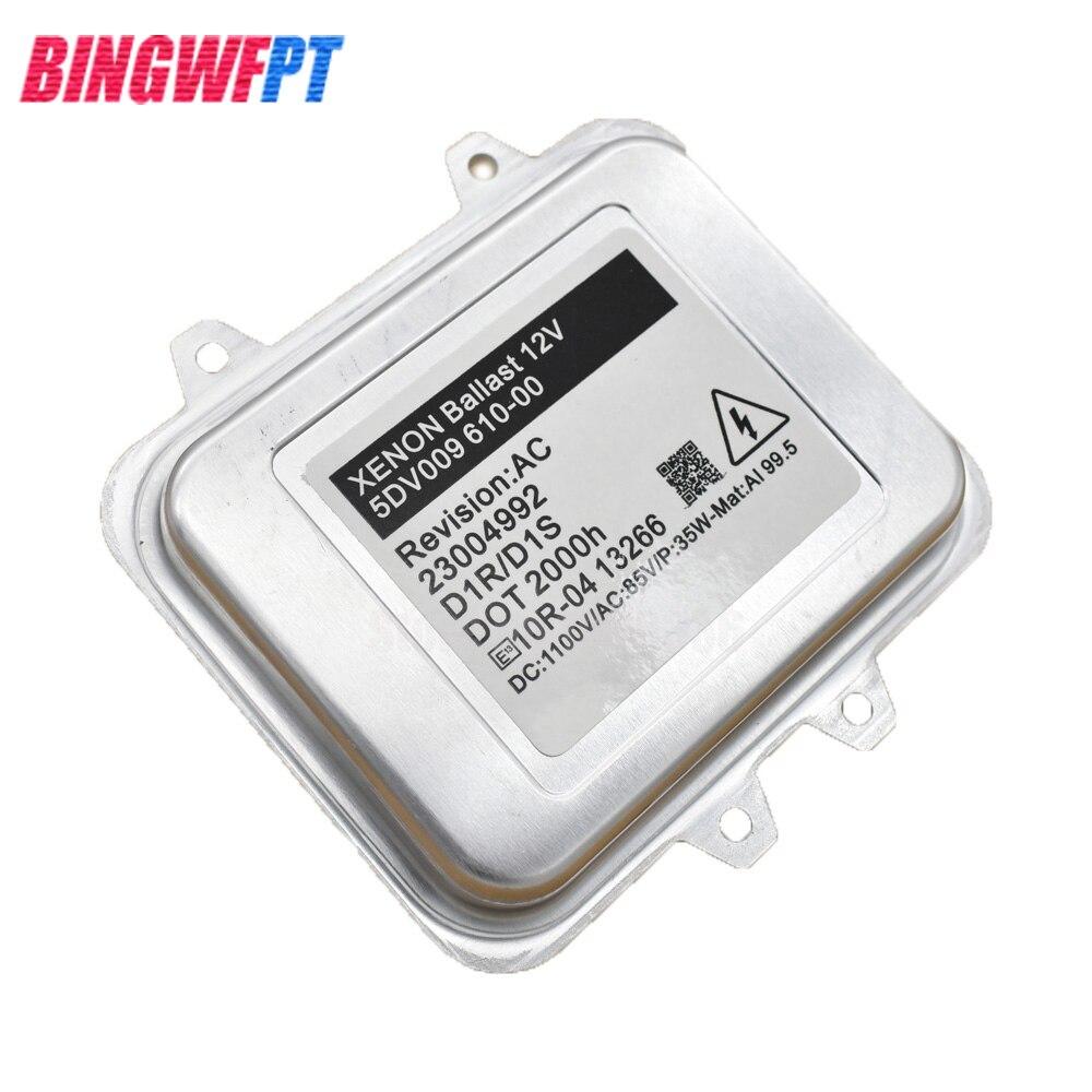 Xénon Xenius Ballast 610 00 D1S ECU Pour Skoda Octavia Pour BMW X5 X6 7PP941597A 5DV009610-00 5DV00961000