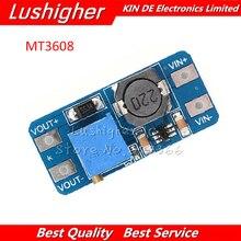 5pcs mt3608 2a 최대 DC DC 스텝 업 파워 모듈 부스터 파워 모듈