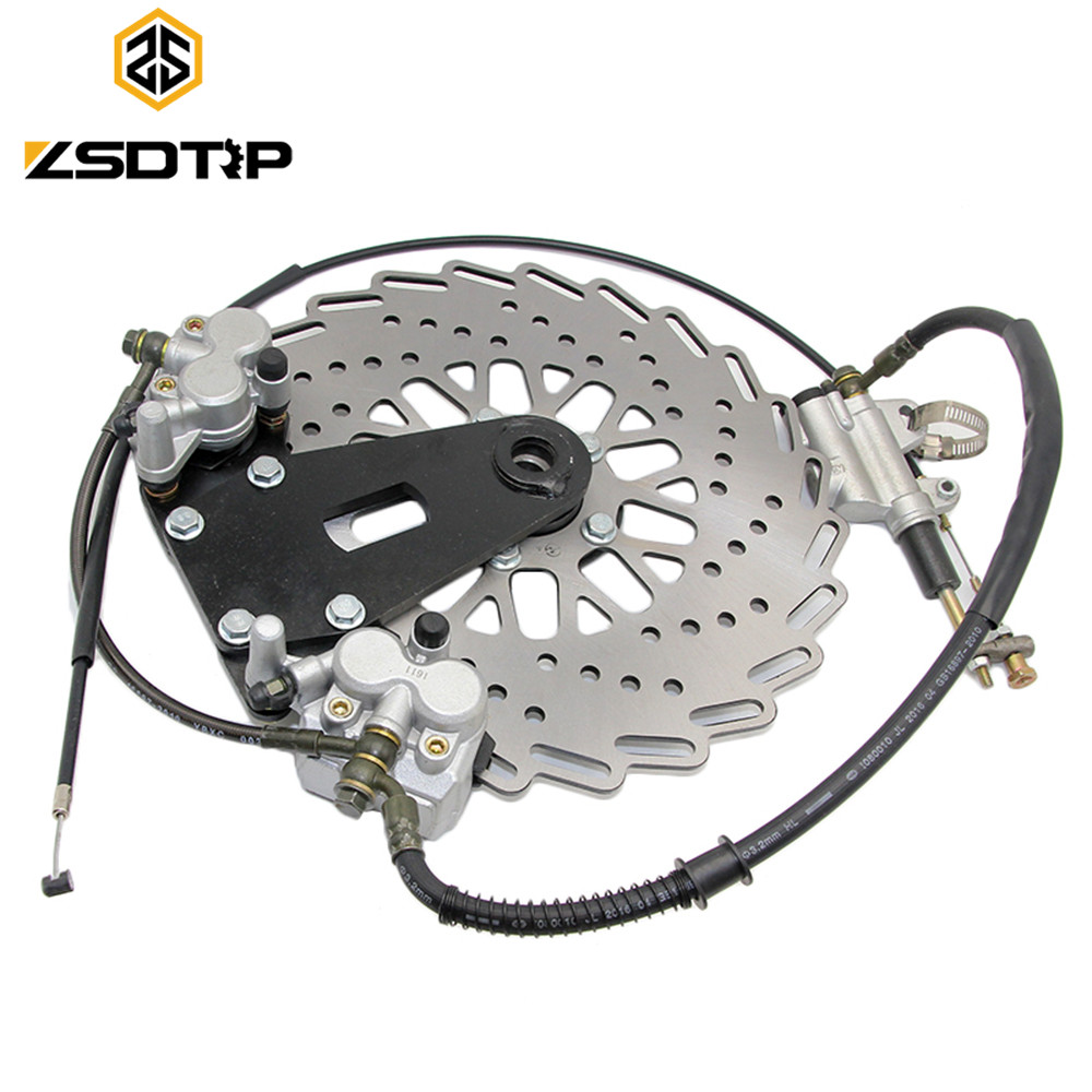ZSDTRP Modify 750cc Motor front and rear brake caliper Disc brake with cab side car case