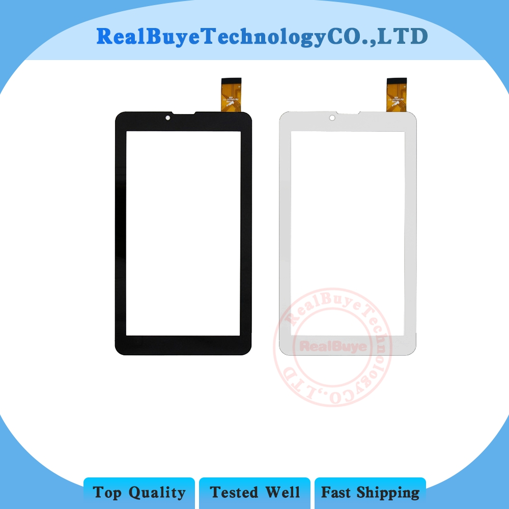 A+ 7 touch screen /plastice film for Irbis TZ49 3G / TZ43 3G Tablet touch screen panel Digitizer Glass Sensor Replacement image