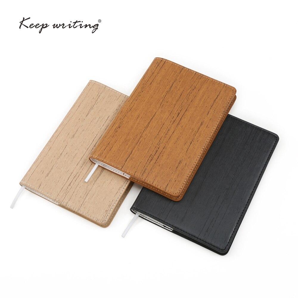 A6 tasche buch kleine notebook mit 80 sheets creme papier Gepunktete seiten gefüttert Plain seite jeder seite kann abgerissen pu-leder hinweis