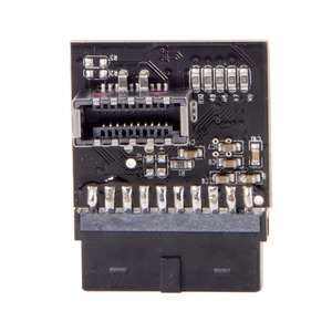 Image 4 - USB 3.1 Front Panel Socket to USB 3.0 20Pin Header Male Extension cable adapter for Motherboard card