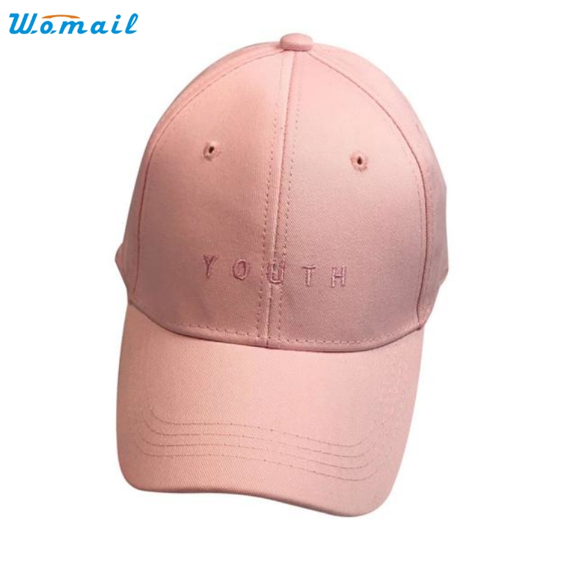fashion baseball caps uk trendy 2015 style new font good quality women pink embroidery cotton cap hat