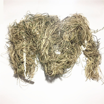 1.2M Airsoft Hunting Blind Ropes Camouflage Ghillie Suit Accessories Elastic Synthetic Fiber Mlitary CS Hunting Blind Gun Wraps 4
