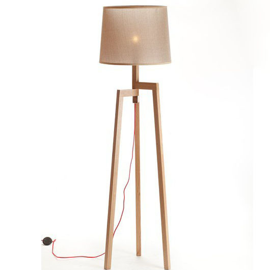 New chinese original wood floor lamp ikea low carbon life for Lampada piantana ikea