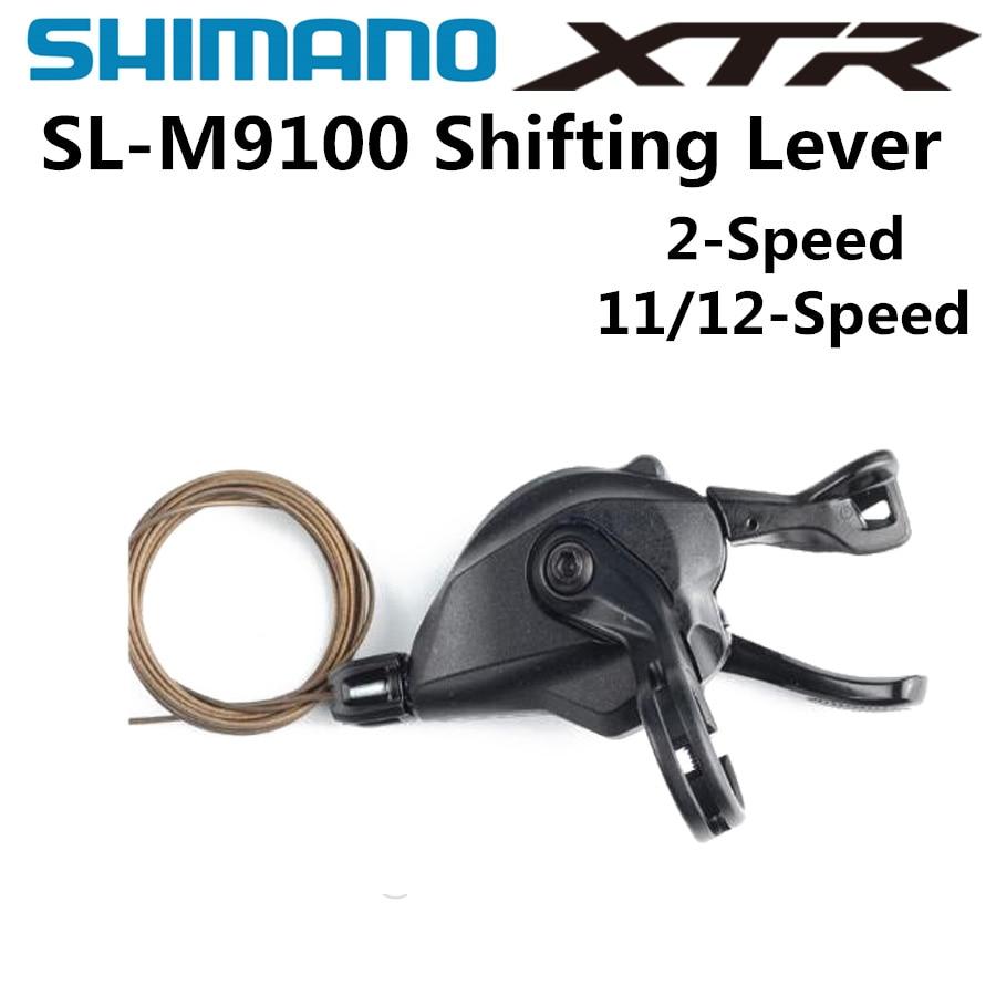 NOUVEAU SHIMANO Deore XTR SL-M9100 RAPIDFIRE Plus levier de vitesses M9100 levier de vitesses 11-vitesse 12-vitesse VTT VÉLO