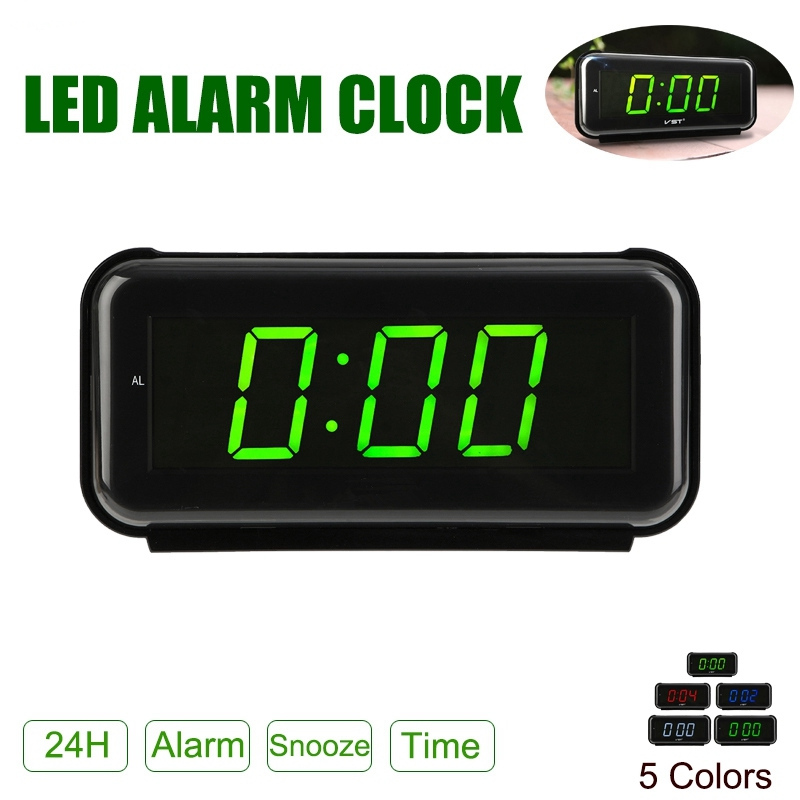 New Arrival 2018 LED Digital Dispaly Modern Clocks Snooze