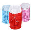 Cotton Thickening Baby Stroller Sleeping Bag Envelope  Style  Winter Warm Windproof  Multi-functional Sleeping Bag