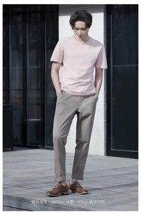 Image 4 - Youpin urbain pantalons décontractés hommes printemps été coton confortable taille moyenne mode mince pour mâle Smart home