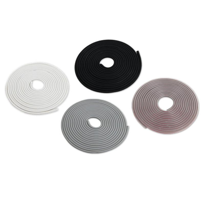 For Audi BMW VW Car Rubber Sealing Trim Molding Door Edge Guard Scratch Strip Protector Car Accessories Car Styling Auto Parts