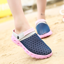 Summer Women Sandals Breathable Mesh Sandal Beach Womens Shoes Water woman Slippers Fashion Slides Cheap