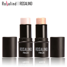 Rosalind Highlighter stick All Over Shimmer Highlighting Powder Creamy Texture Water-proof Silver Shimmer Light