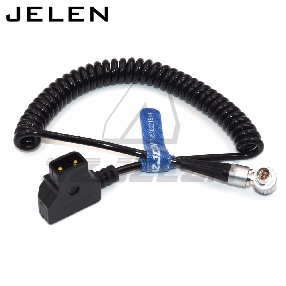Injection molded DTAP to lemo 4pin Cable for Vaxis Wireless image transmission 4pin power cable