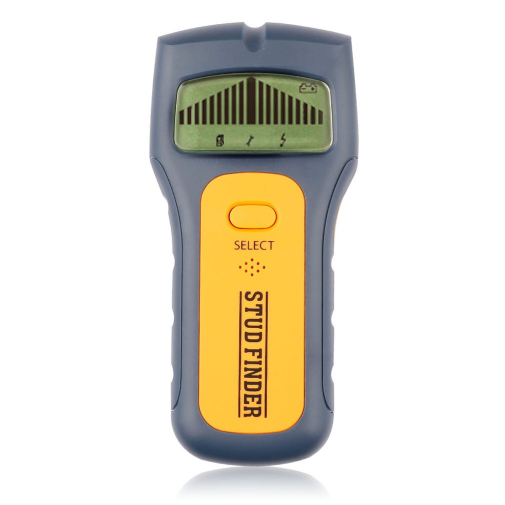 3 In 1 Stud Finder Handheld Scanner AC Live Wire Cable Metal Wood Detectors Detect Wall Detector Find LCD Display High Quality multi scanner 3in1 lcd wall stud detector metal voltage cable wood finder portable live wire scanner tool