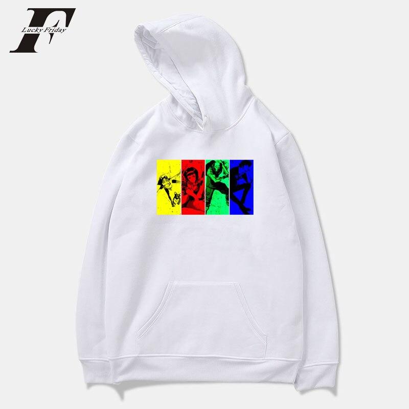 luckyfridayf kawaii cartoon oversized Hoodie sweatshirt Men women moletom cotton Winter Hoodies Men Sweatshirts Hooded Pullover