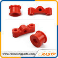 RASTP- New Red Polyurethane Shifter Bushing Kit For 88-00 CIVIC DOHC B16 B18 LS-SFN021
