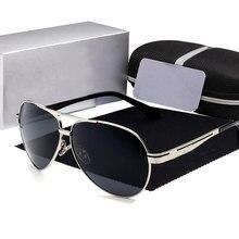 famous Brand Luxury Polarized Sunglasses for Men women 2019 Pilot Drivi