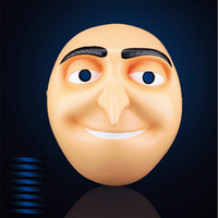 Cartoon Masks Collector Film Despicable Me Cosplay Resin Mask God Steal Milk Dad Gru Party Masks