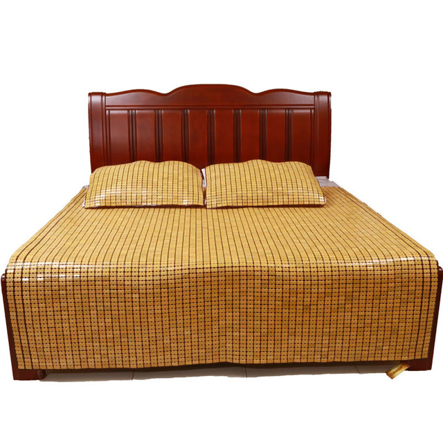 Bamboo Mattress Traditional Chinese Carbonized Bamboo Bed Mat Cool Matress  King Size Queen Size