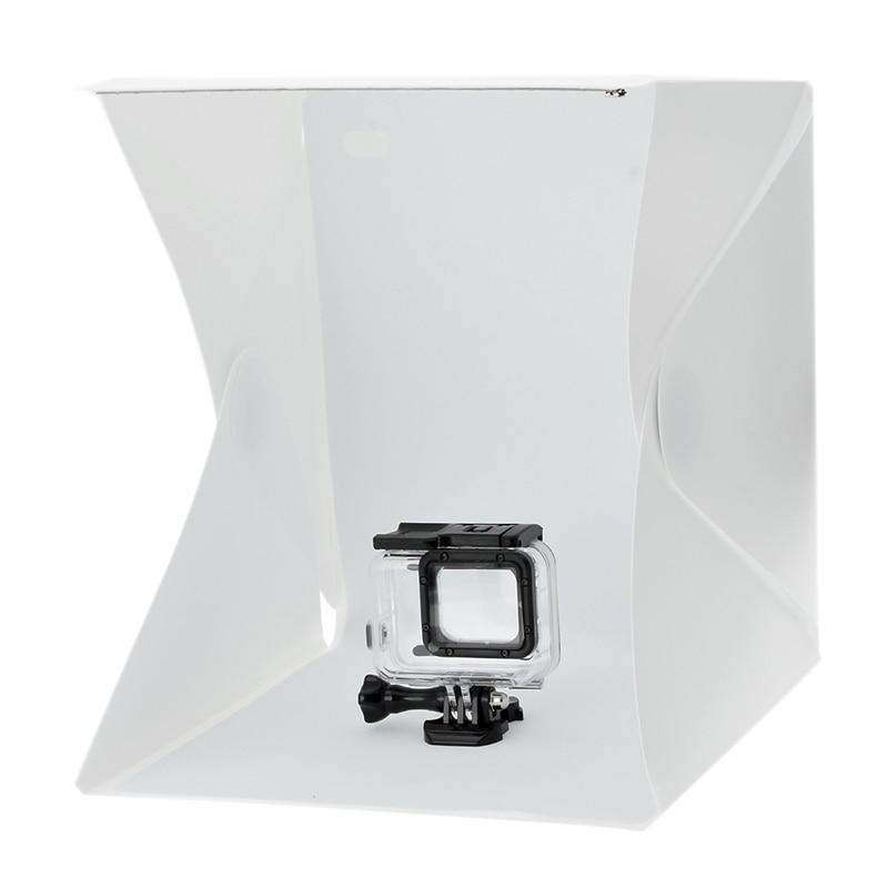Mini Foldable Photo Studio Camera Box de Photographie LED Light Tent Kit Lighting Tent Emart Diffuse Studio Soft Box Lightbox