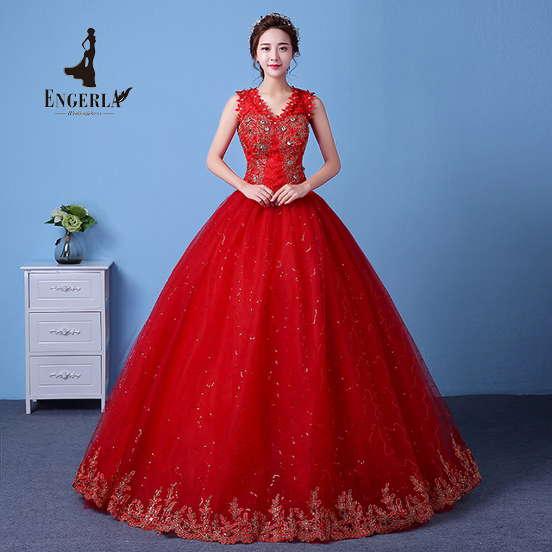 Popular red wedding dresses buy cheap red wedding dresses for Red wedding dresses cheap
