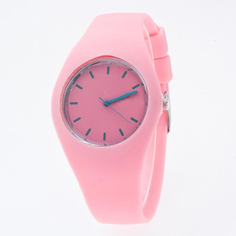 Sportsure til Lady Farverige Silikonebånd Famale Armbånd Watch - Dameure - Foto 5